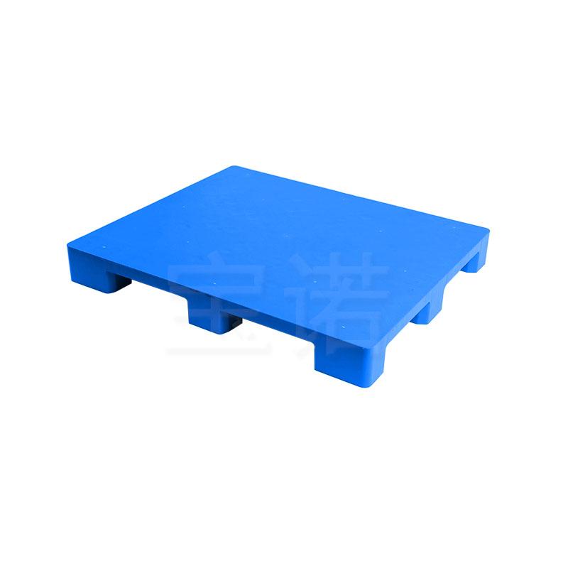 九脚平板1210蓝色塑料托盘